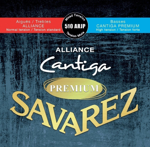 Savarez 510 ARJP Alliance Cantiga Premium Konzertgitarre, medium/high tension