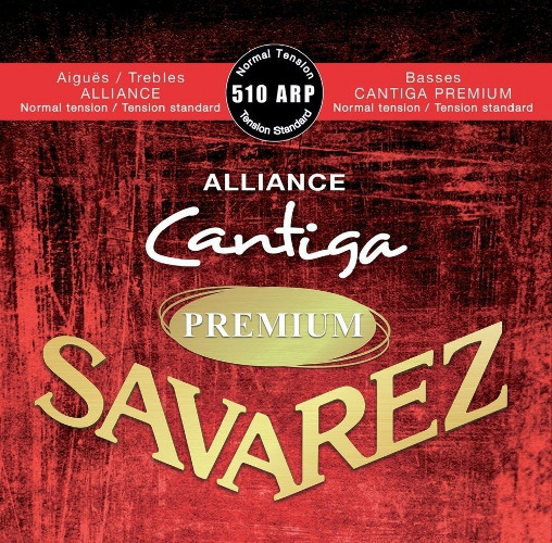 Savarez 510 ARP Alliance Cantiga Premium Konzertgitarre, normal tension