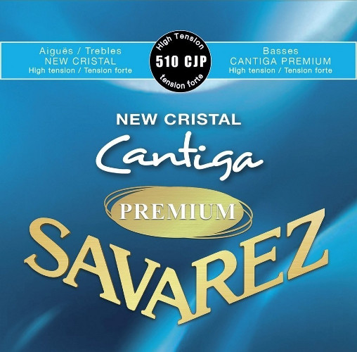 Savarez 510 CJP New Cristal Cantiga Premium Konzertgitarre, high tension