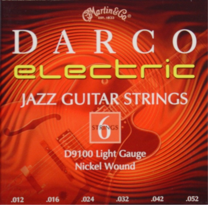 Darco by Martin D9100 E-Gitarre, Jazz-light (012 - 052)