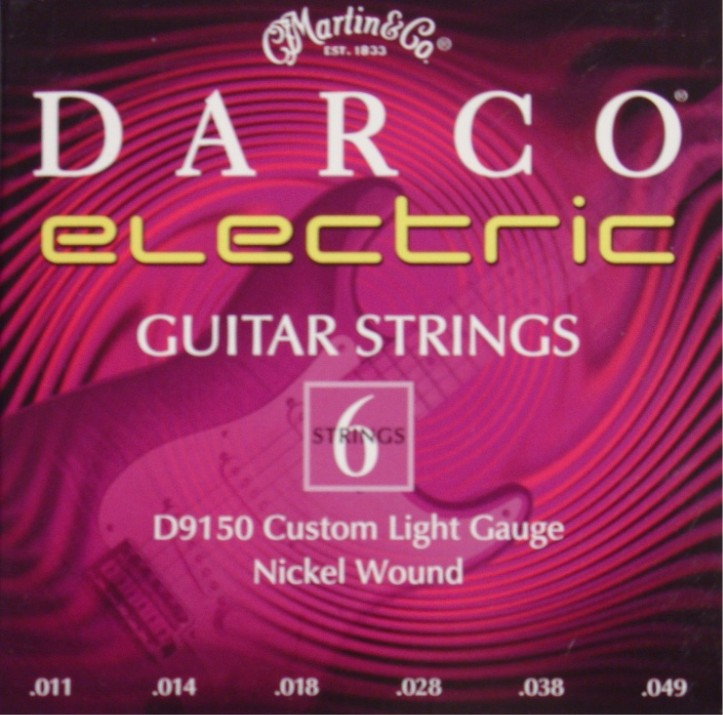 Darco by Martin D9150 E-Gitarre, custom light (011 - 049)