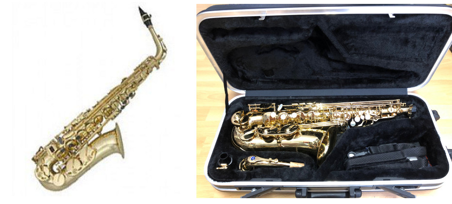 Trever James 3740 Revolution II Altsaxophon - Goldlack incl. Koffer